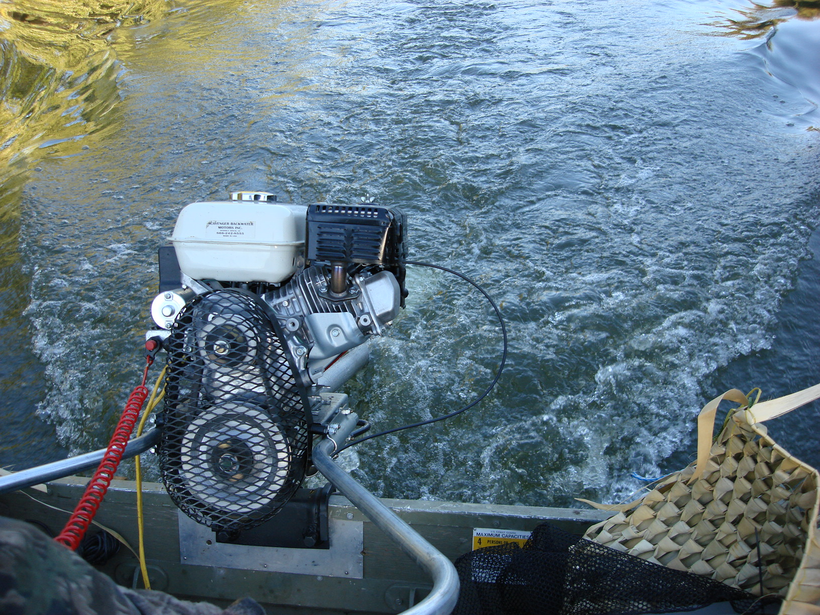 scavenger backwater motors a long tail boat motor for